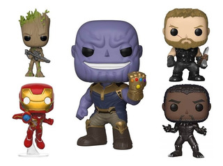 Funko Pop Thanos Avengers Endgame Marvel Infinity War Groot