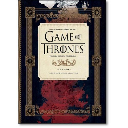 Livro Game Of Thrones Por Dentro Série Hbo 3 E 4 Temporada