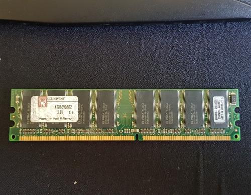 Memoria Ram Kingston 512mb Ddr1 400mhz