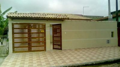 Casa Nova Com Piscina Lado Praia No Gaivota Itanhaém Sp