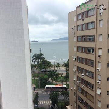 Imagem 1 de 14 de Lindo 1 Dormitório Vista Mar No Bairro Da Ponta Da Praia - 2686