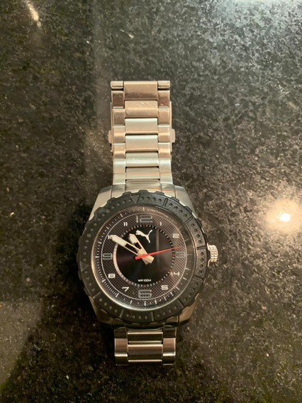 Relogio Puma 103091 Stainless Steel 805 Wr100m