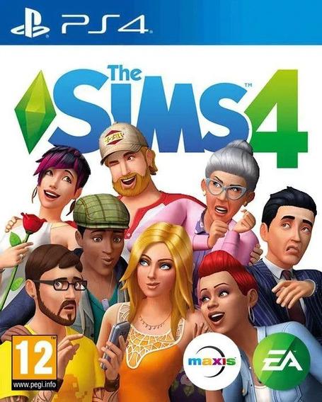 The Sims Iv - Ps4 - Mídia Física - Novo - Lacrado