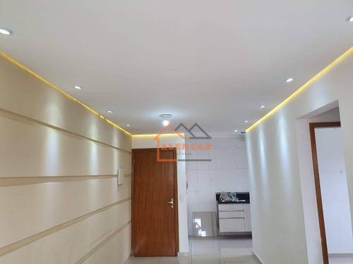 Imagem 1 de 12 de Apartamento À Venda, 55 M² Por R$ 212.000,00 - Vila Nova Curuçá - São Paulo/sp - Ap0260