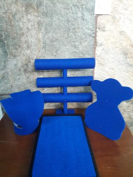 Set Exhibidores Azul