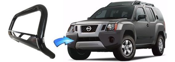 Parachoque De Impulsão Chapa Preto Nissan X-terra 03 A 07