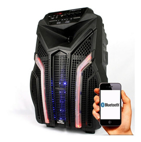 Caixa De Som Amplificada Bluetooth 2000w Fortress Sumay