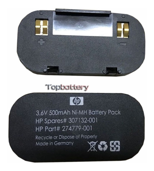 Bateria Hp 274779-001 3.6v Nimh 274779-001
