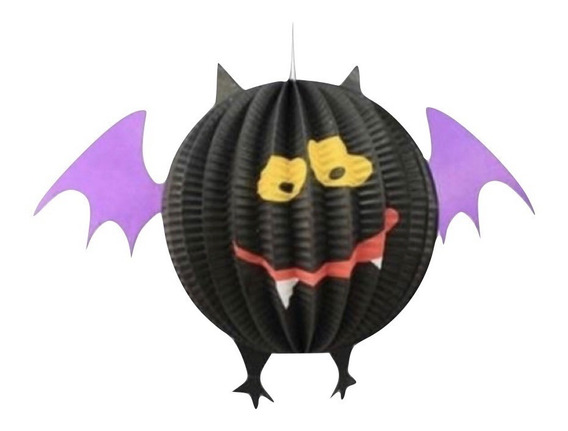 Esfera Colgante Murcielago Guirnalda Decoracion Halloween