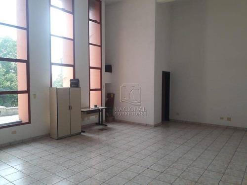 Sala Para Alugar, 116 M² Por R$ 1.600,00/mês - Vila Alto De Santo André - Santo André/sp - Sa0488