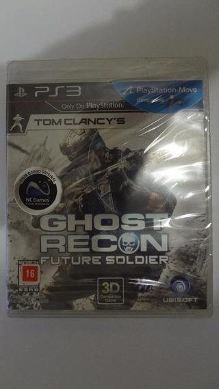 Tom Clancys Ghost Recon Future Soldier Ps3 - Novo E Lacrado
