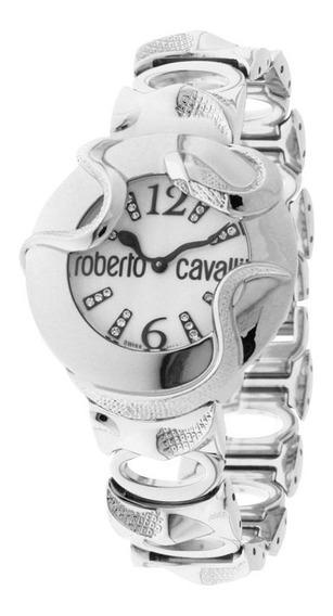 Roberto Cavalli Santiago Relogio Feminino C/ Diamanti Swiss