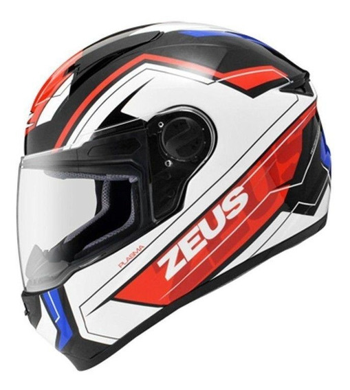 Capacete Moto Zeus 811 Evo Plasma Al5 Preto Azul