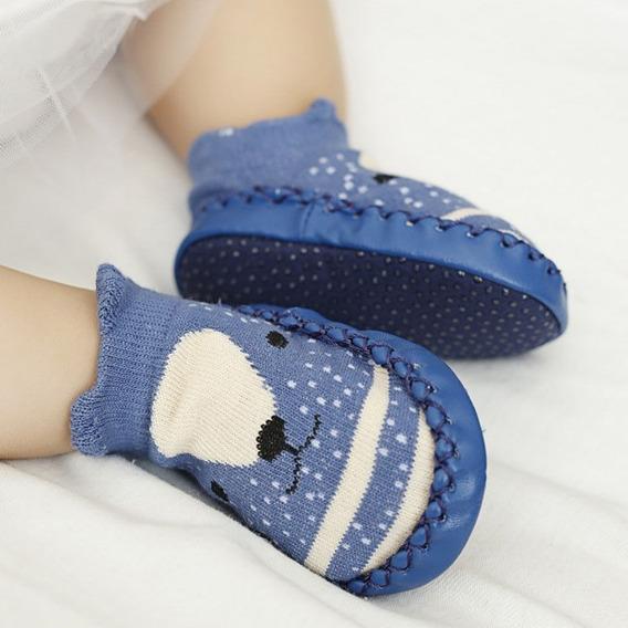 Sapato Meia Sapatilha Sola Shoes Infantil Bege 008232