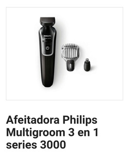 Afeitadora Philips Multigroom Serie 3000 - 3 En 1