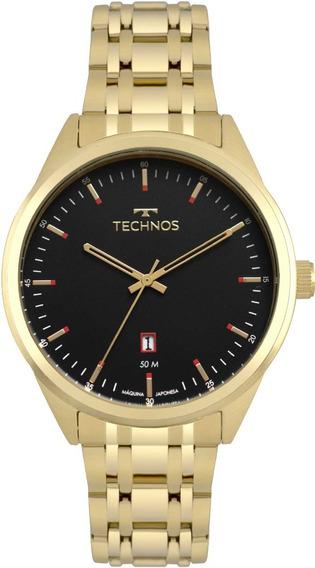 Relógio Technos Masculino Classic Steel 2115msb/4p