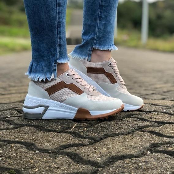 Tênis Feminino Chunky Dad Sneaker Vizzano Casual Confortável