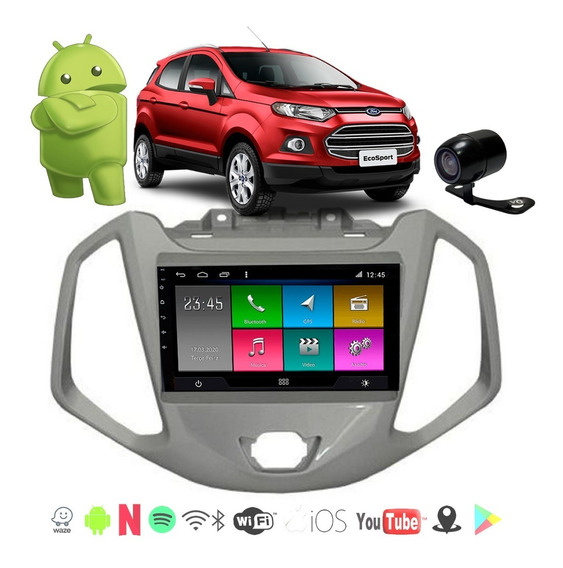 Central Multimidia Ecosport 13 14 15 16 Android 8.1 Aikon