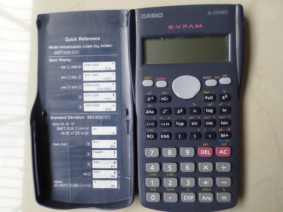 Calculadora Cientifica Marca Casio Fx -350 Ms