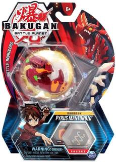 Bakugan Pack X 1 Pyrus Mantonoid