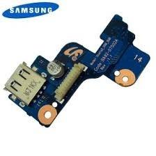 Placa Usb/botão Power Note Samsung Rv411 Rv415 Rv419