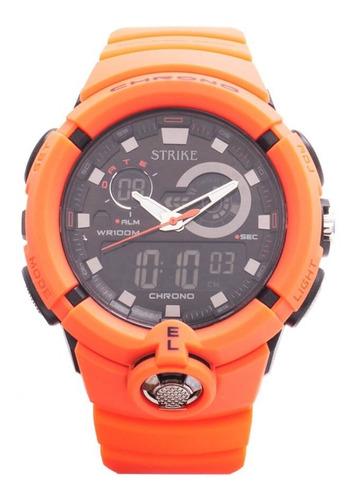 Reloj Strike Watch Análogo Digital Ad1188-0gag-rdbk Hombre