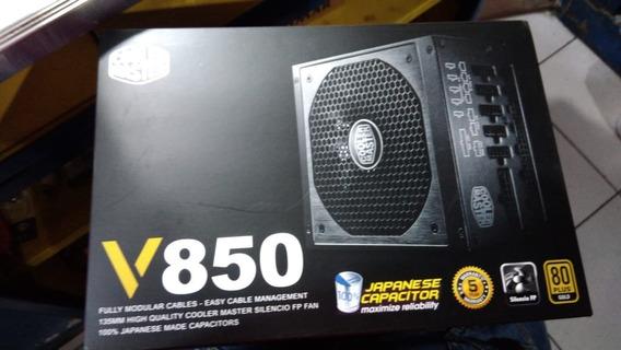 Fonte Cooler Master 850w 80 Plus Gold Modular - Rs850-afbag1
