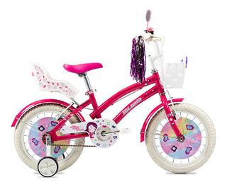 Bicicleta Olmo Tiny Friends Rodado 16 Nena - Racer Bikes
