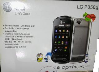 Celular LG P350 - Impecable Para Personal