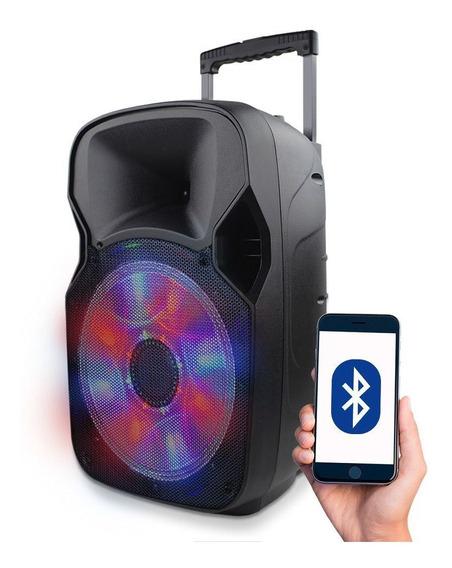 Caixa De Som Multilaser 150w Rms Usb Sd Karaokê Bluetooth