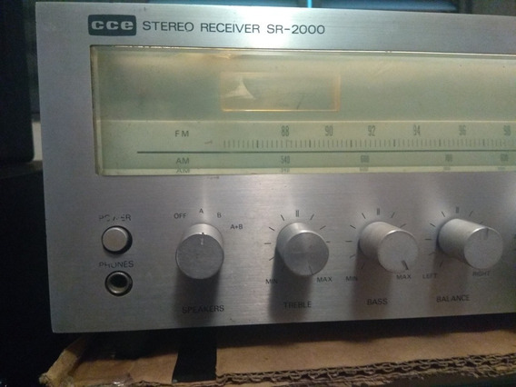 Receiver Cce Sr 2000/gradiente/techinics/sony/akai