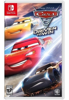 Cars 3: Driven To Win - Switch - Original - Lacrado - Nf