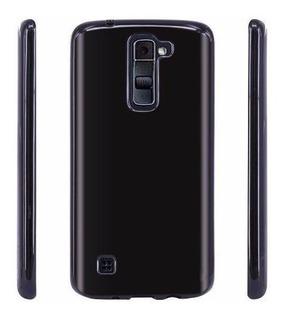 Capa Tpu Celular LG K8 K350n 2016 + Película De Vidro