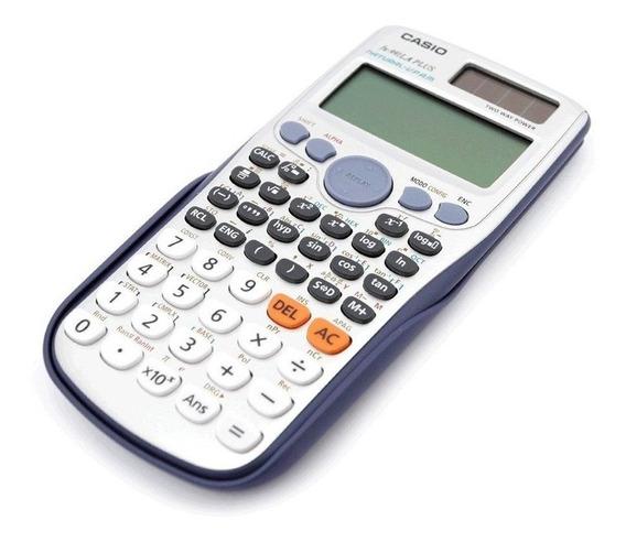Calculadora Casio Fx991 La Plus 417 Funções Original