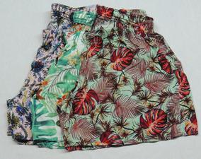 Kit Com 4 Shorts Bermuda Feminina Plus Size Tamanhos Maiores