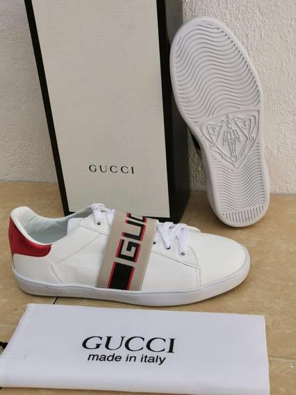 Tenis Gucci Unisex Nuevos Moda Dama Caballero ¡=)=)=)=)=)=)