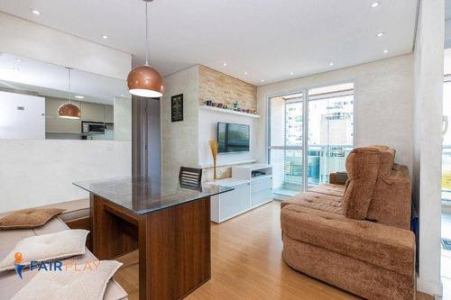 Imagem 1 de 26 de Apartamento 49m 2 Dormitorios 1 Suite 1 Vaga Com Lazer Completo No Alto Da Boa Vista - Ap6335