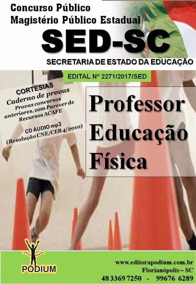 Apostila Concurso Sed Sc Professor Educação Física