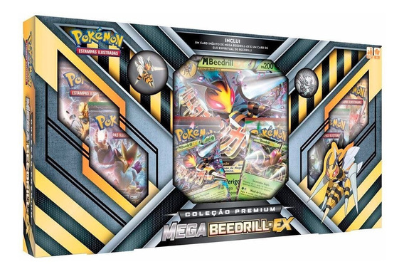 Pokémon Jogo De Cartas Box Mega Beedrill Ex