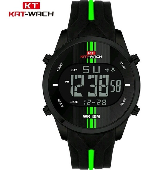 Relógio Esportivo Display Led A Prova D