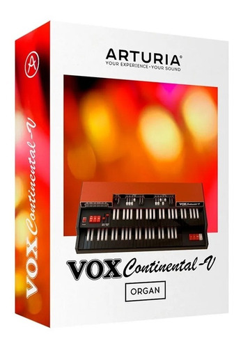 Software Arturia Vox Continental V Original + Cuotas