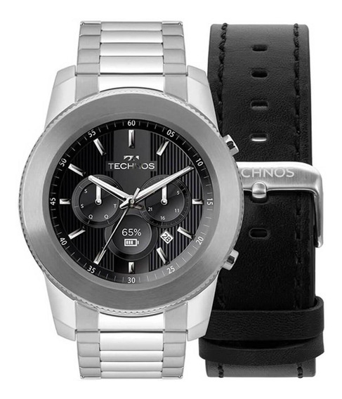 Relógio Masculino Technos Connect Digital M1aa/1p Aço