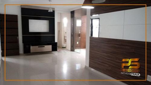 Imagem 1 de 14 de Apartamento Com 3 Dormitórios À Venda, 98 M² Por R$ 220.000 - Bessa - João Pessoa/pb - Ap5137
