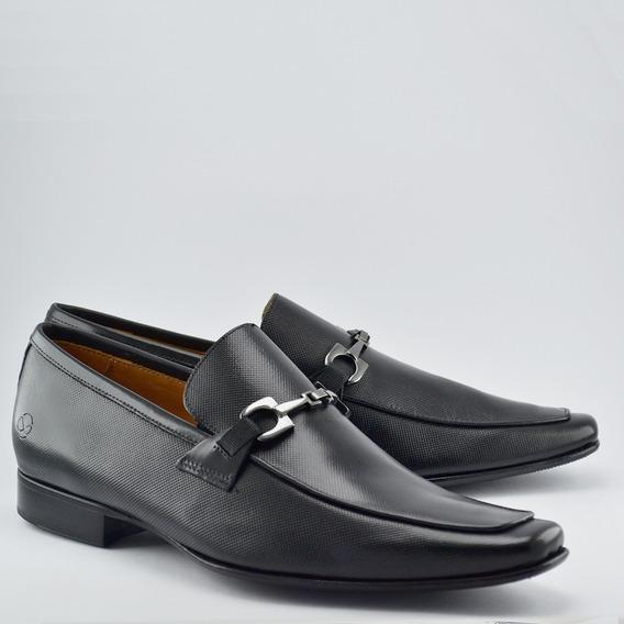 Sapato Social Infinity Loafer Black
