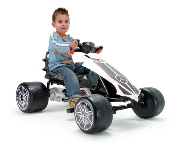 Coche Montable Gokart Pedales Infantil Niño Injusa Juguetes