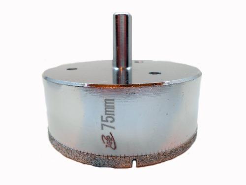Imagen 1 de 6 de Mecha Diamantada 75mm Vidrio Cerámica Mármol Porcelanato