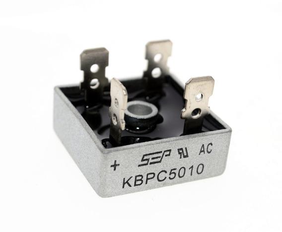 02 Diodo Ponte Retificadora Kbpc5010 50a 1000v Original
