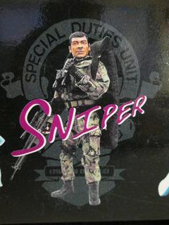 Sniper Dragón Gi Joe Aventurero 1/6, 12 Pulgadas, 30 Cm.