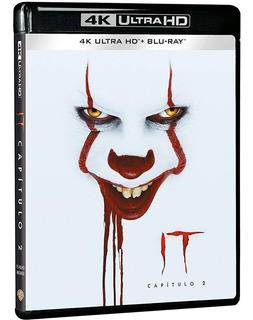 It Eso Capitulo 2 Pelicula Blu-ray 4k Uhd + Blu-ray
