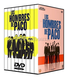 Los Hombres De Paco 9 Temporadas Dvd Pack Serie Española